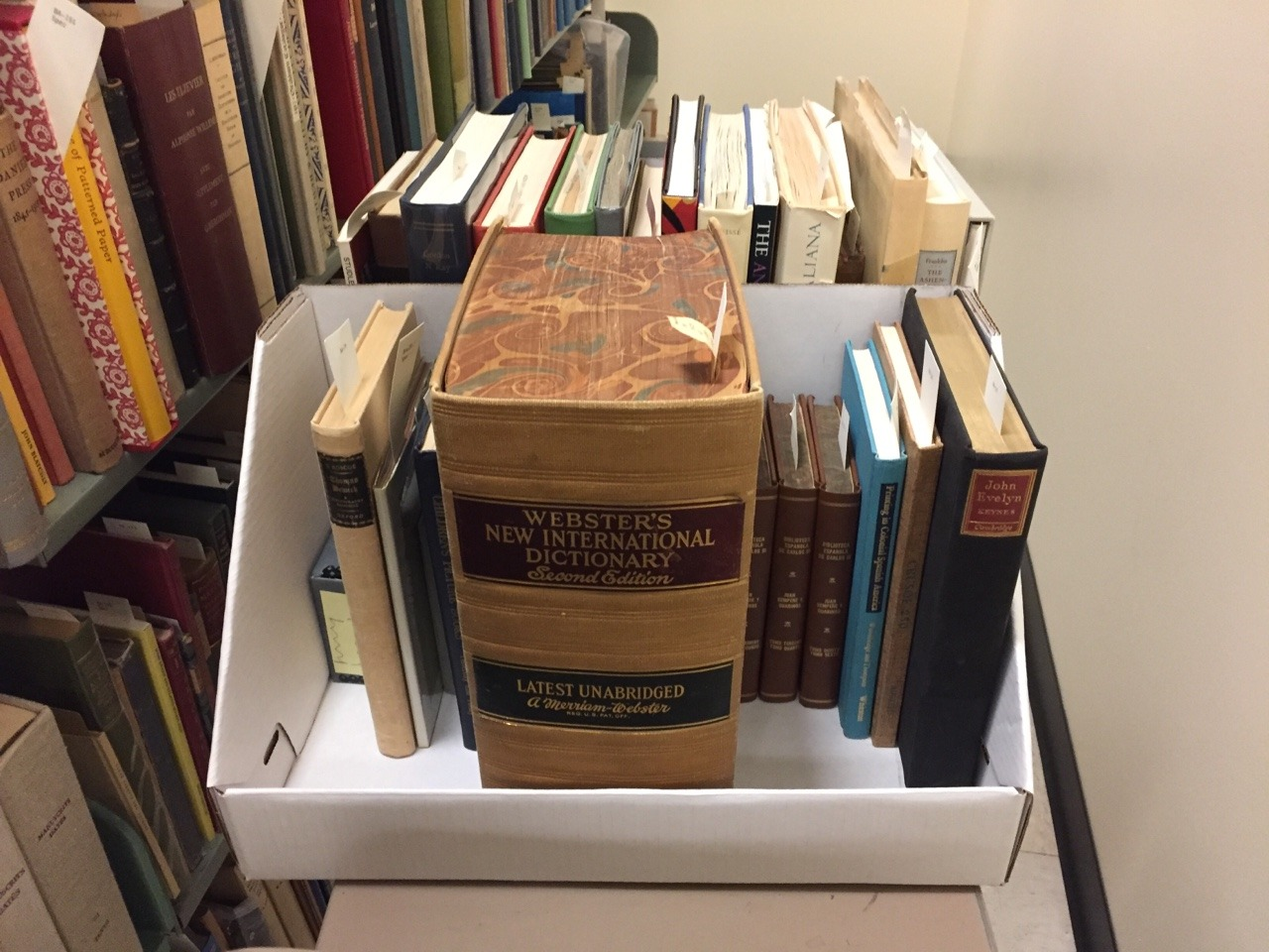 Some scenes from the move of our archives and special collections…