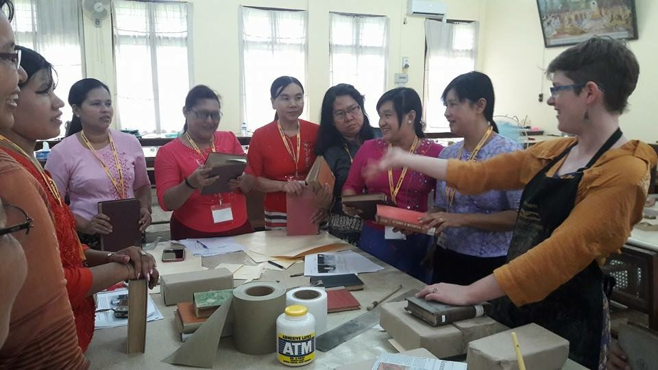 Myanmar Preservation Training