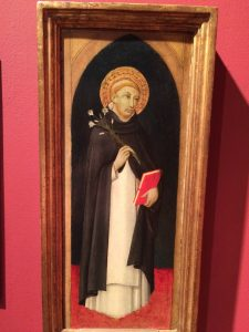 Saint Dominic, ca. 1480, painted by (Followers of) Sano di Pietro